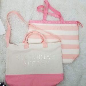 Victoria's Secret Shoulder Bag Insulated Canvas